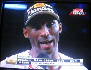 NBAファイナル201010