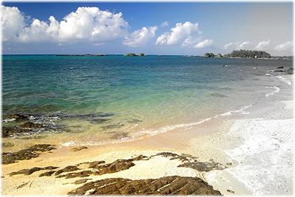 沖縄の海ab
