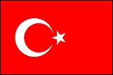 トルコの国旗a
