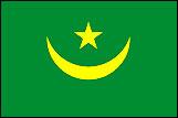 モーリタニアの国旗a