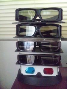 3Dメガネいろいろ