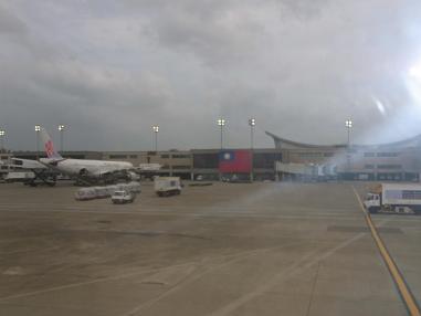 桃園国際機場 到着