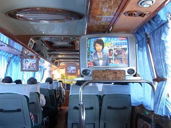 代行バス 車内 台東