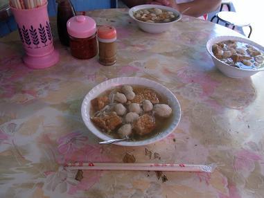 魚丸米粉 宜蘭