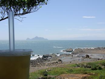 石花氷と亀山島
