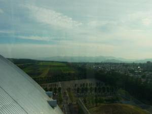 20110707札幌ドームから羊が丘