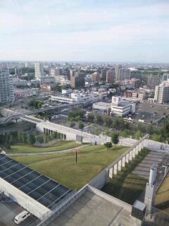 20110707札幌ドーム展望台から