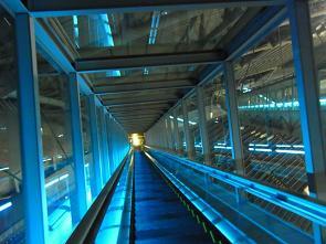 20110707札幌ドームエスカレーター