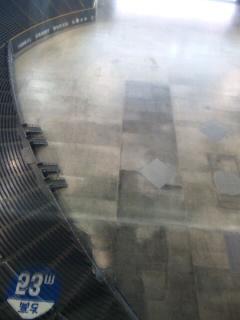 20110707札幌ドーム展望台から客席を見る