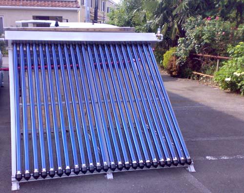 オリジナル太陽熱集熱器
