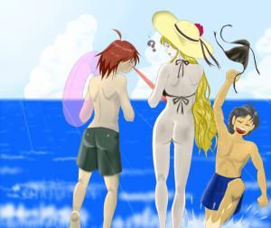 海 それは小僧の遊び場