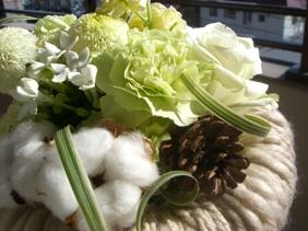 モコモコ花束