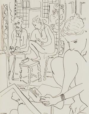 鏡に映る画家とモデル1935年_convert_20091216193508