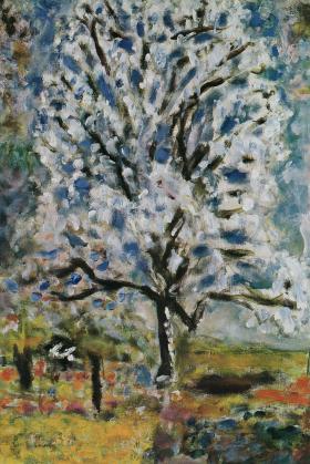 花ざかりの杏の木1946+47_convert_20100121193511