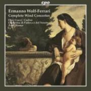 Wolf-Ferrari  Wind Concertos
