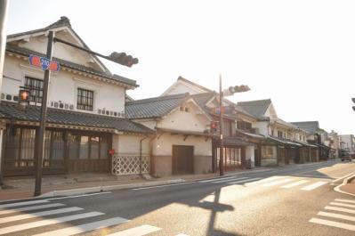 吉井町 街並みだよ