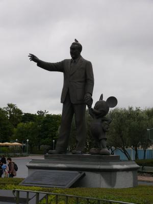 スズメとウォルトディズニーとミッキーマウス