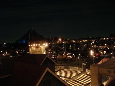 ディズニーシー夜景