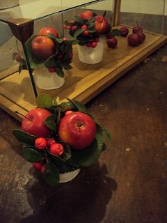 りんごアレンジ