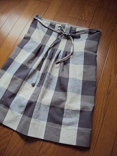 大人ラップスカート