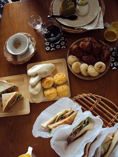 金曜日のランチ&お茶会