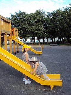 公園遊びも