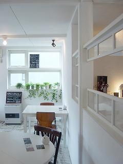 cafe blancの店内3