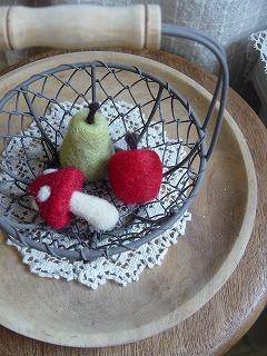 フエルトの果物