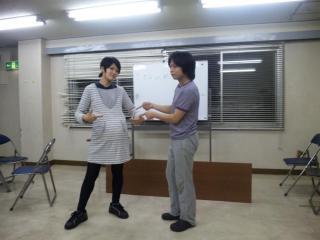 アテプリ!稽古風景2