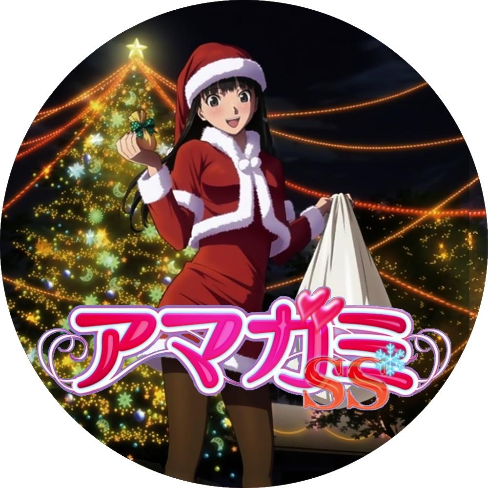 (自作DVDラベル) アマガミSS (11~12巻)