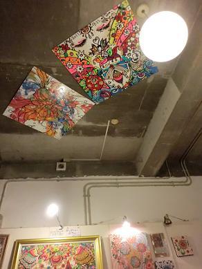 チャンプルー荘天井