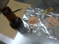 ビールウインナー 試作1