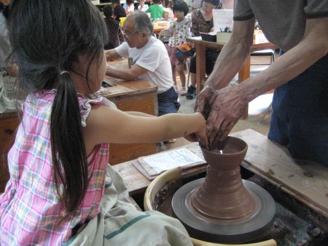 皿作り (2)