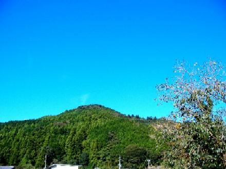自宅前の富士?山
