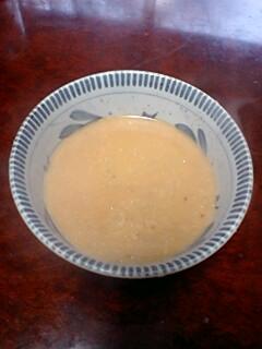 玄米雑穀味噌かゆ