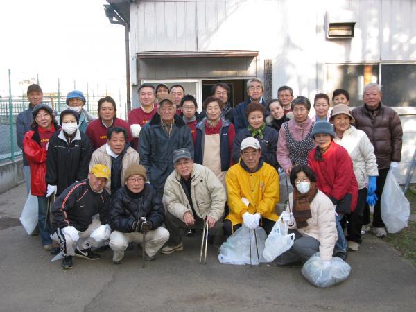 20091220板橋クリーン作戦集合写真