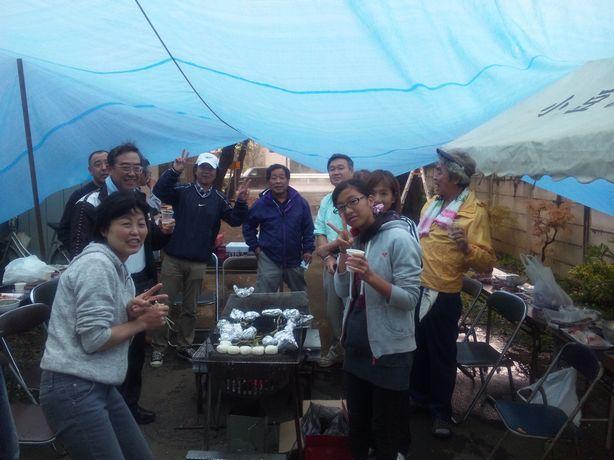 2010-09-23お祭り慰労BBQ1