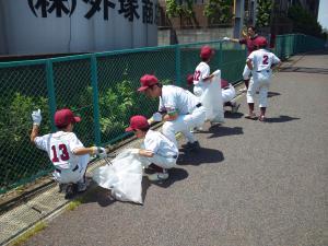 20100606春の板橋クリーン作戦小豆沢エース