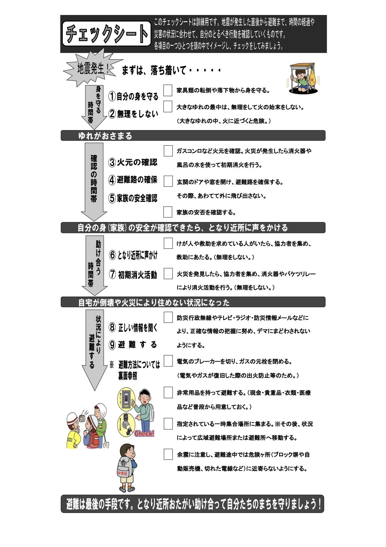 板橋区危機管理室_避難手順書2