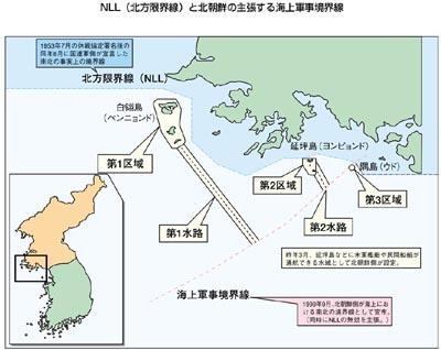 朝鮮半島 領海問題