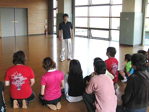 下起悦郎選手の講習会