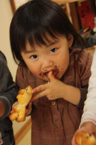 親子パン教室写真4
