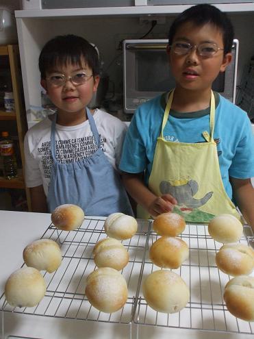 パン作り 001