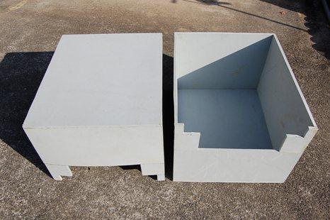 巣箱覆いボックス