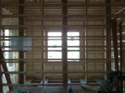 2階寝室南側壁部