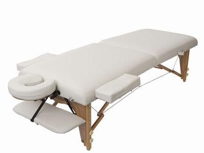 低反発木製折りたたみベッドMT-006S(白)