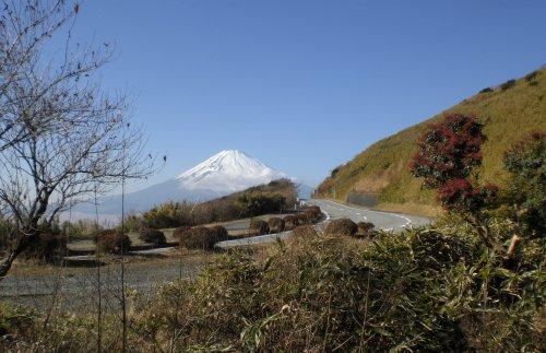芦ノ湖スカイランから見る富士山