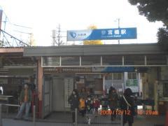 小田急線参宮橋駅