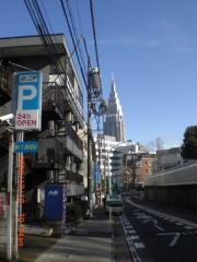 新宿方面を望む