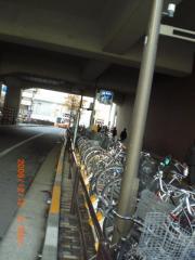 秋葉原駅近くの駐輪場